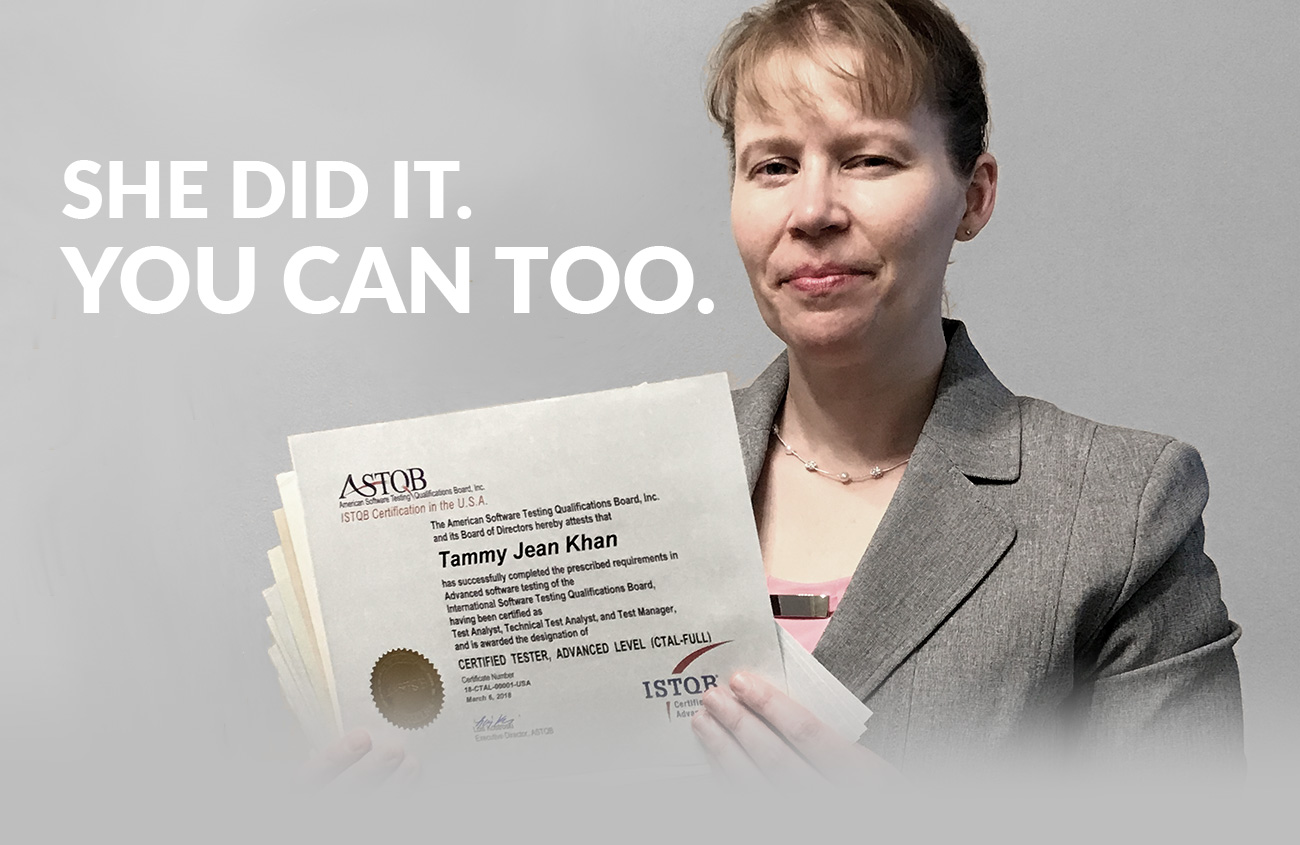 Even 1 ISTQB certification is impressive  She earned 11  Learn how