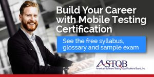 Mobile Software Testing Certification
