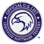 Logo of the Official US List of Certified Testers